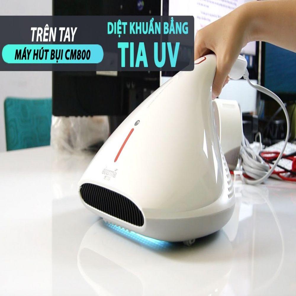 Máy Hút Bụi Giường Nệm Cầm Tay DEERMA CM800 Diệt Khuẩn UV