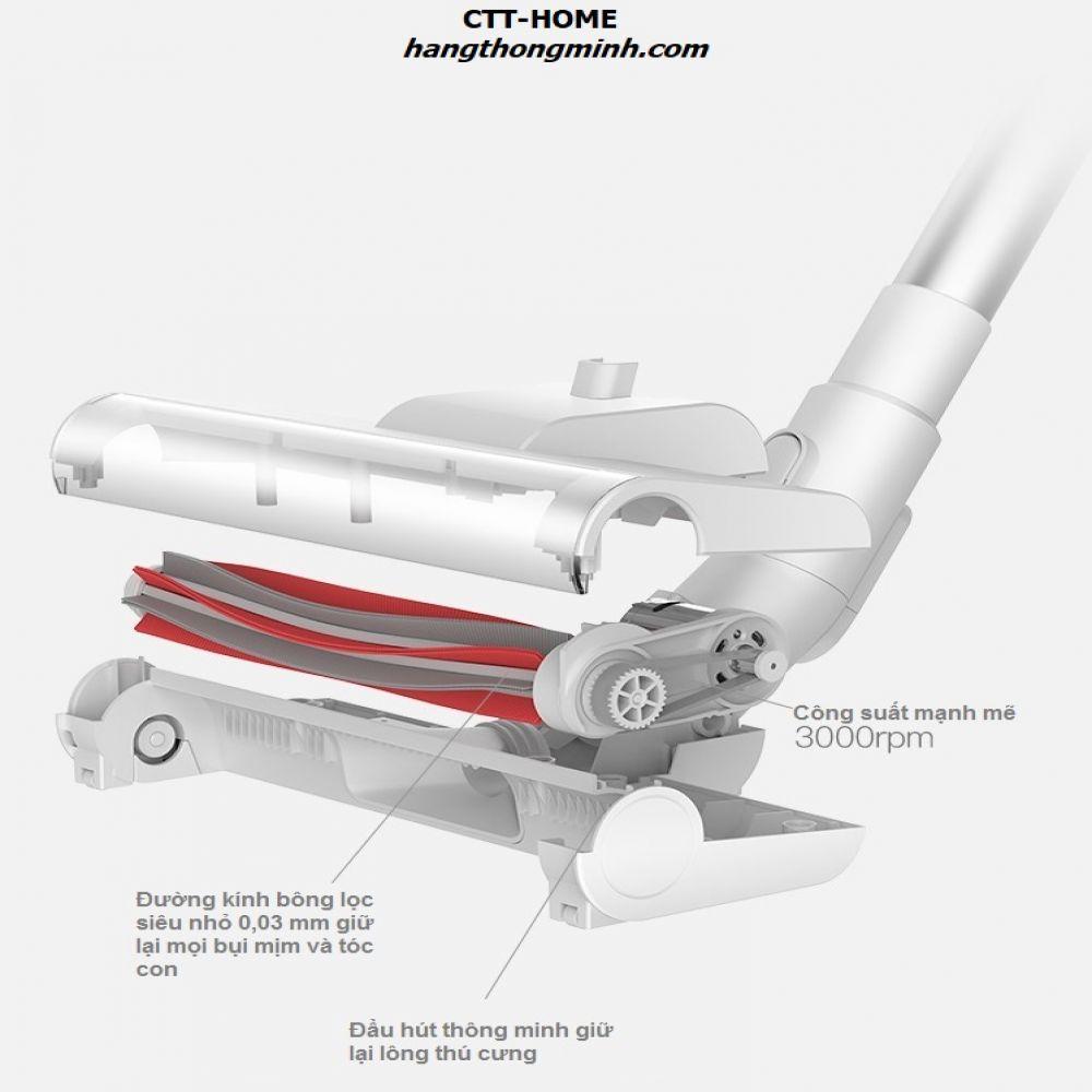 Máy Hút Bụi Cầm Tay Không Dây Sạc Pin Deerma VC20 Plus - Mã VC20PLUS