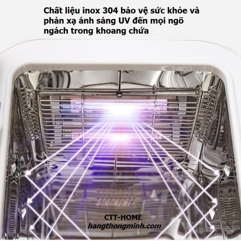 Máy Tiệt Trùng Sấy Khô Bình Sữa Tia UV Diệt Khuẩn EGOGO - Mã K1062