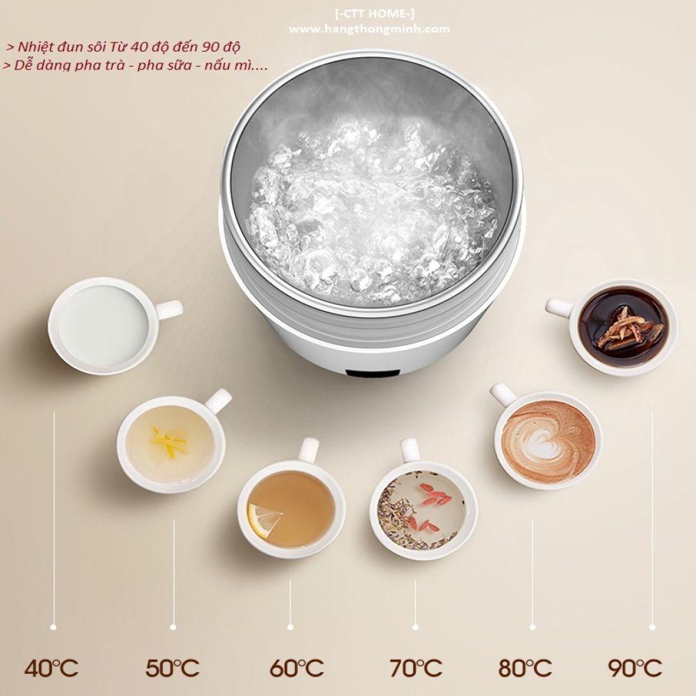 Bình Đun Nước Pha Trà Pha Sữa Giữ Nhiệt Deerma DR035 - Mã DR035