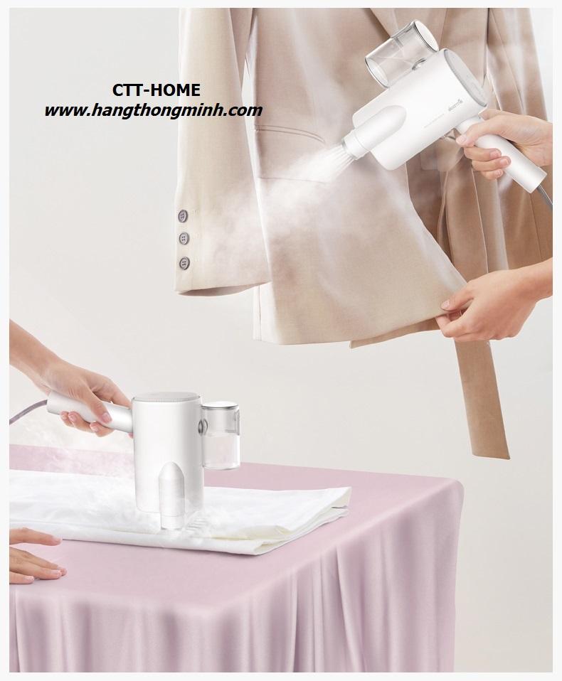 bàn ủi hơi nước mini du lịch cầm tay Deerma hs006 giá rẻ