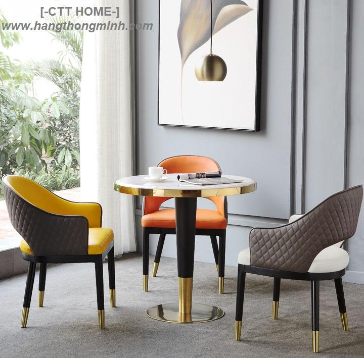 bàn trà, bàn cà phê tròn, bàn tròn tiếp khách mặt đá sang trọng tphcm