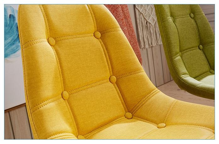 ghế ăn ghế cafe tiếp khách EAMES bọc nệm vải đẹp giá rẻ tphcm