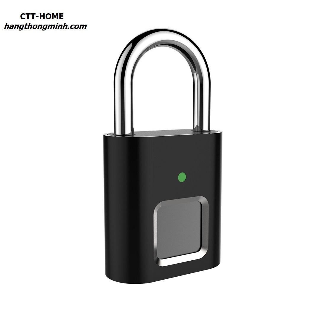 ổ khóa vân tay cảm ứng mini khóa vali du lịch L34